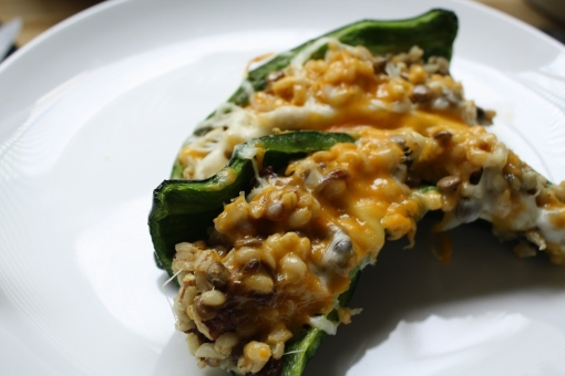 stuffed poblano pepper recipe