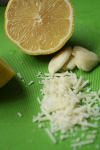 Trifecta for Kale Caesar Salad Dressing