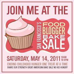 SF Food Bloggers Bake Sale Badge