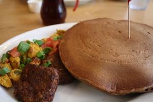 gingerbread pancakes kerbey lane cafe austin