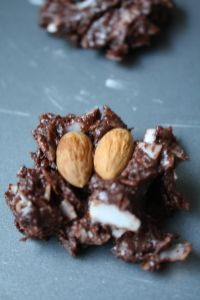 homemade almond joys recipe