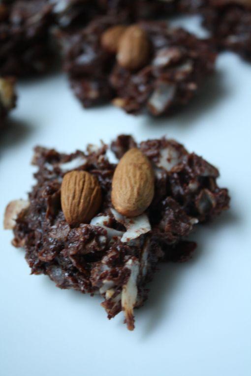 homemade almond joys recipe