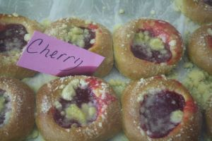 cherry kolaches, west texas