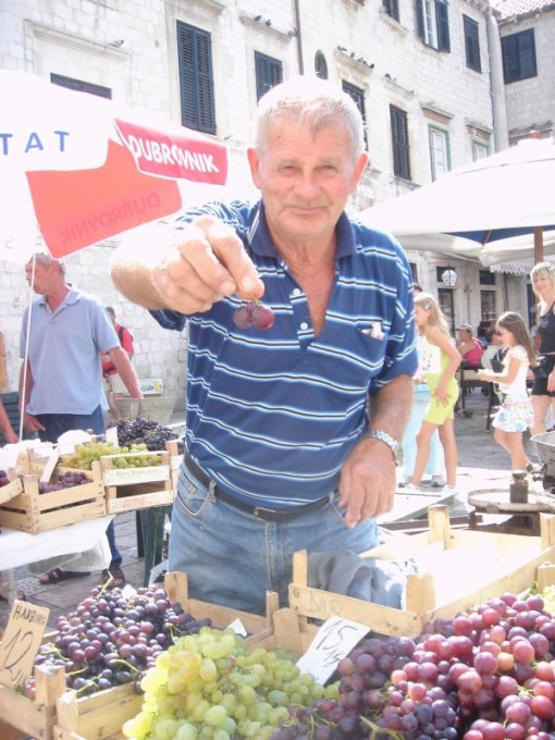 farmer's market dubrovnik
