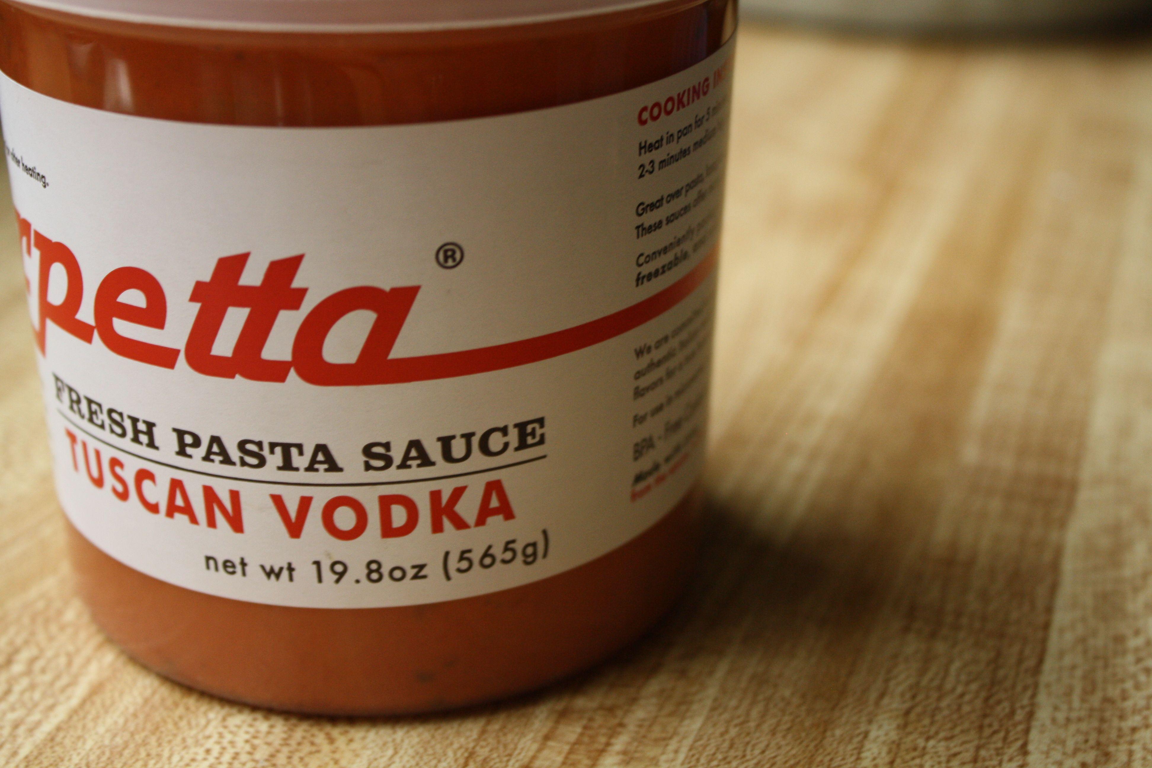 tuscan vodka sauce- premade & decadent