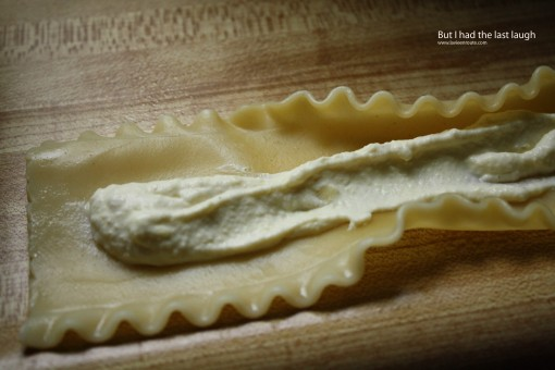 how to make artichoke ricotta lasagna rosettes
