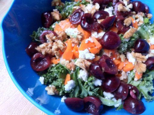 kale_pickledcherry_salad