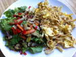 migas and cabbage saute