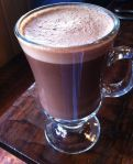 Fuego Hot Chocolate at Chocolate Santa Cruz Restaurant