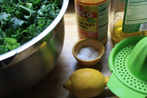 ingredients needed for kale chips