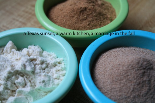 a Texas sunset warm kitchen