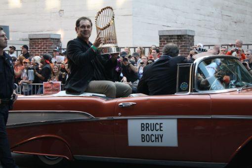 bruce bochy 2010 world series parade