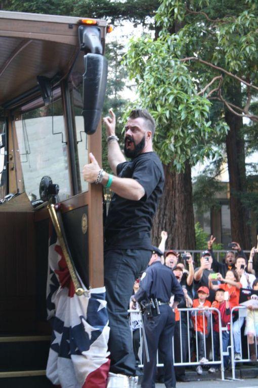 brian wilson 2010 world series parade