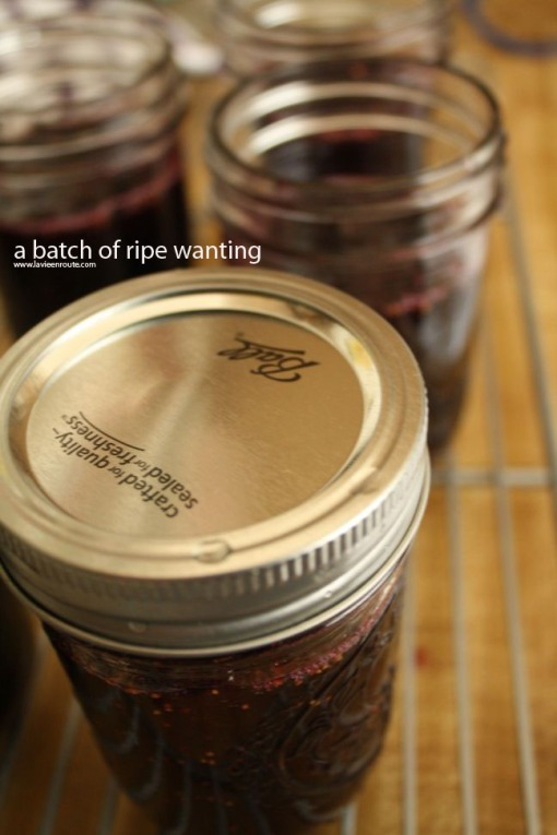 a batch of ripe wanting